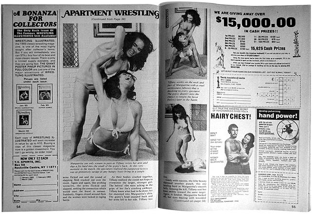 The most sensational apartment wrestling … ever!