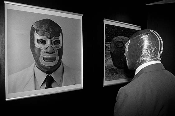 Blue Demon ante si mismo (Blue Demon against himself)