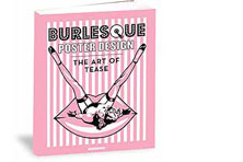 Burlesque Poster Design Book Sleeve