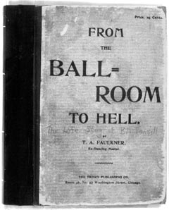 Book cover: From the ball-room to hell