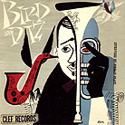 Record sleeve art: Dizzy Gillespie and Charlie Parker Bird and Diz