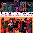 Record sleeve art: Art Blakey's Jazz Messengers A Night In Tunisia