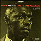Record sleeve art: Art Blakey and the Jazz Messengers Moanin'