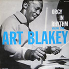 Record sleeve art: Art Blakey Orgy in Rhythm Volume Two