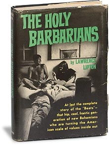 Photo of book sleeve: The Holy Barbarians