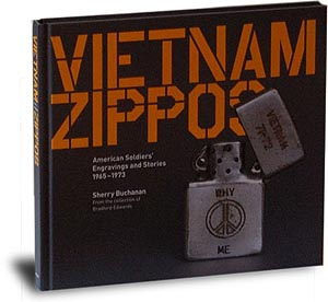 Photo of book sleeve: Vietnam Zippos